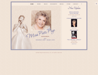 misspattipage.com screenshot