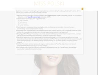 misspolski.pl screenshot