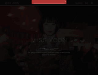 missvoon.se screenshot