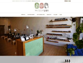 missylui.com.au screenshot