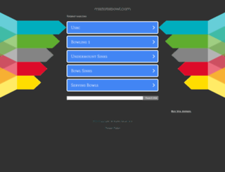 mistatebowl.com screenshot