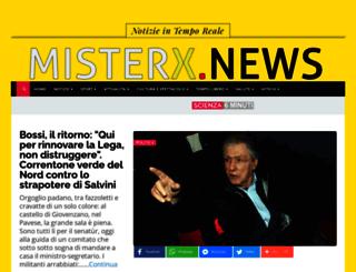 mister-x.it screenshot