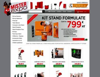 misterexpo.fr screenshot