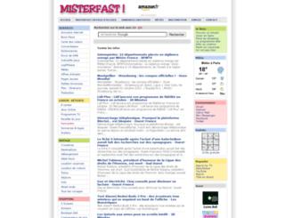 misterfast.com screenshot