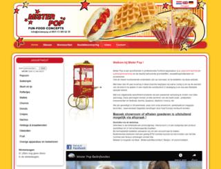misterpop.nl screenshot