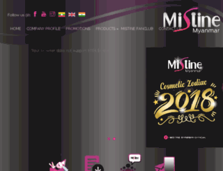 mistinemyanmar.com screenshot