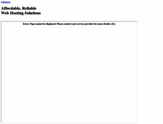 mistique.si screenshot