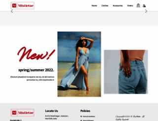 mistletoe.co.in screenshot