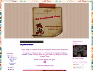 mistrapitosdeebay.blogspot.com screenshot