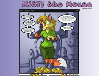 mistythemouse.com screenshot