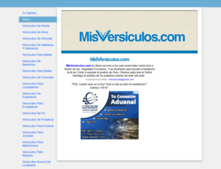 misversiculos.com screenshot