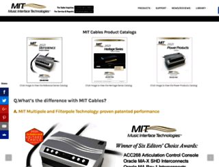 mitcables.com screenshot