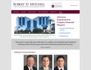 mitchell-attorneys.com screenshot
