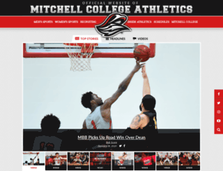 mitchellathletics.com screenshot