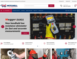 mitchellinstrument.com screenshot