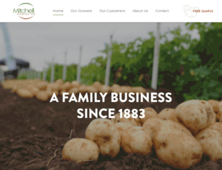 mitchells-potatoes.co.uk screenshot