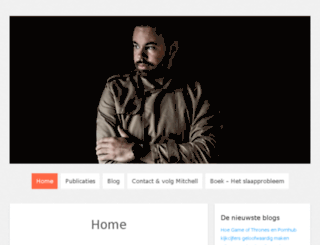 mitchellvanderkoelen.nl screenshot