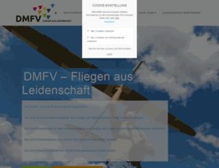 mitgliederportal.dmfv.aero screenshot