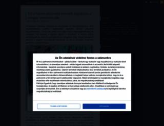 mitgondolaweb.blog.hu screenshot
