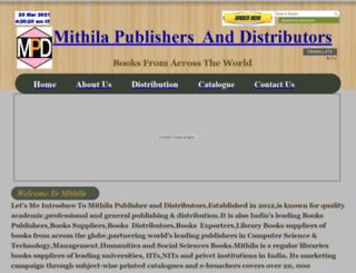 mithilaonlinein.hostgator.co.in screenshot