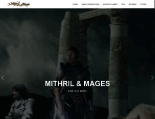 mithrilandmages.com screenshot