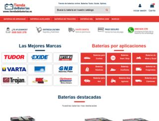mitiendadebaterias.es screenshot