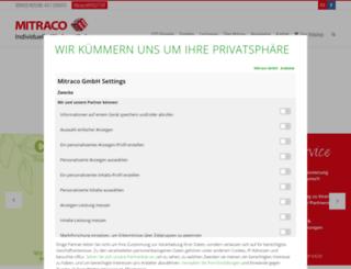 mitraco.com screenshot