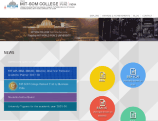 mitsomcollege.com screenshot