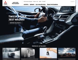 mitsubishi.autotest.com.pl screenshot