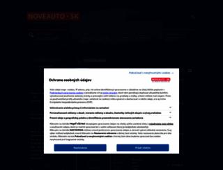 mitsubishi.noveauto.sk screenshot