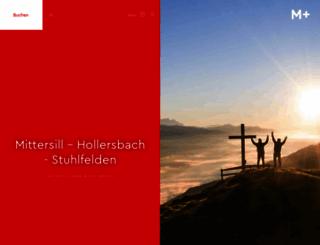 mittersill-tourismus.at screenshot