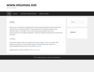 miumau.net screenshot