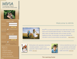 mivia.org screenshot