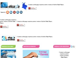 miweb.eficacia.com.co screenshot
