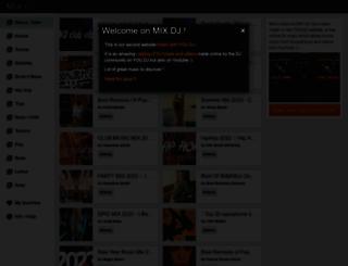 mix.dj screenshot