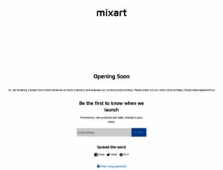 mixart.com screenshot