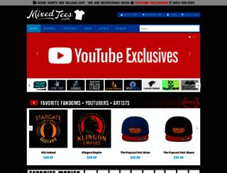 mixedtees.com screenshot