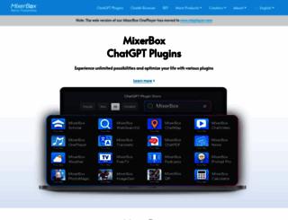 mixerbox.com screenshot