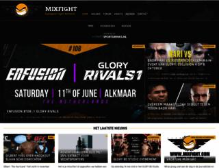 mixfight.nl screenshot
