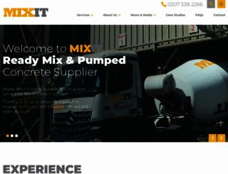 mixit.co.uk screenshot