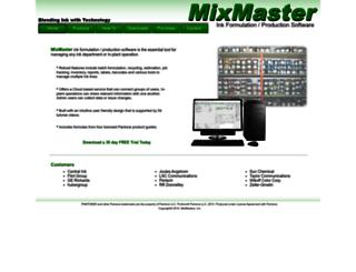 mixmasters.com screenshot
