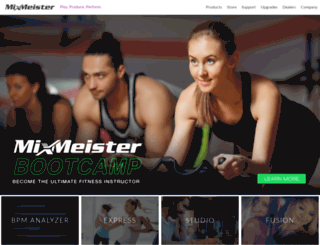 mixmeister.com screenshot