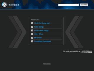mixodia.in screenshot