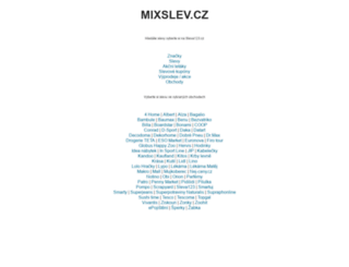 mixslev.cz screenshot
