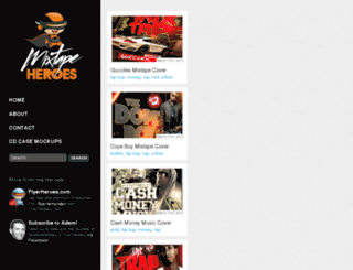 mixtapeheroes.com screenshot