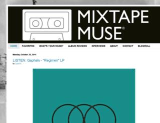 mixtapemuse.com screenshot
