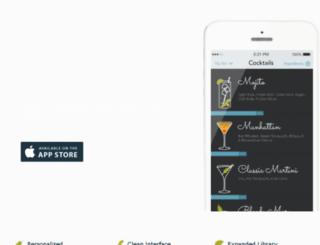 mixturaapp.com screenshot