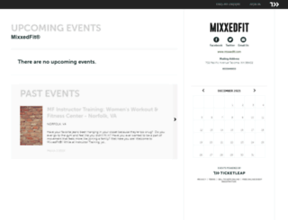 mixxedfit.ticketleap.com screenshot