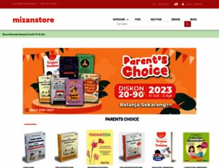 mizanstore.com screenshot