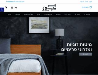 mizraney-olympia.co.il screenshot